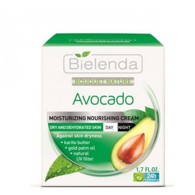 Bielenda Bouquet Nature Feuchtigkeitspflege Avocado 50 ml