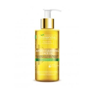 Bielenda Argan Cleansing Face Oil With Sebum Control Complex 140 ml