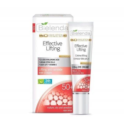 Bielenda Biotechnology Liquid Crystal 7D Lifting 50+ Eye Cream 15 ml