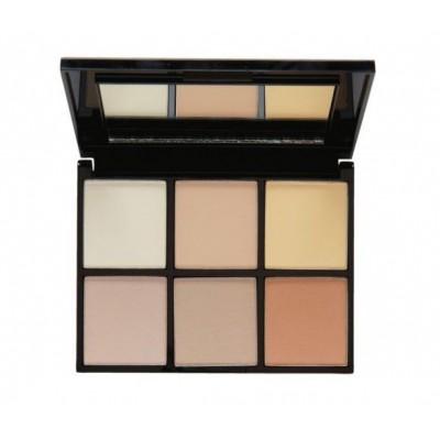 MUA Makeup Academy Luxe Radiant Illumination Highlighting Kit 14,5 g