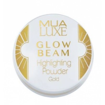 MUA Makeup Academy Luxe Glow Beam Highlighting Powder Gold 5 g