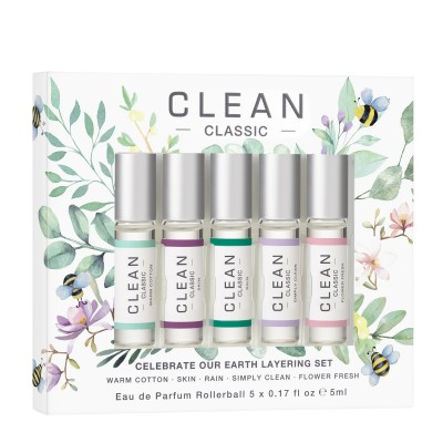 Clean Celebrate Our Earth Layering Set 5 x 5 ml