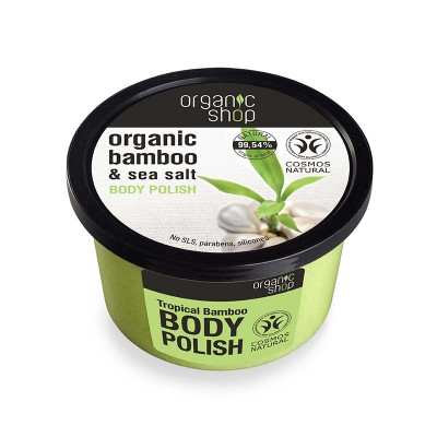 Organic Shop Organic Bamboo & Sea Salt Body Polish 250 ml