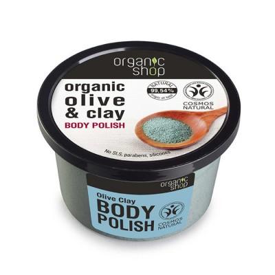 Organic Shop Organic Olive & Clay Body Polish 250 ml