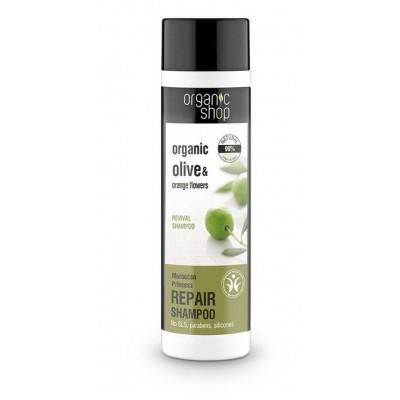 Organic Shop Organic Olive & Orange Flowers Repair Shampoo 280 ml