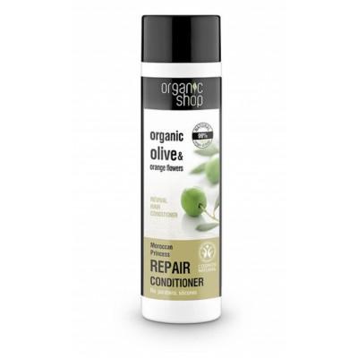 Organic Shop Organic Olive & Orange Flowers Repair Conditioner 280 ml