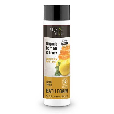 Organic Shop Organic Lemon & Honey Bath Foam 500 ml