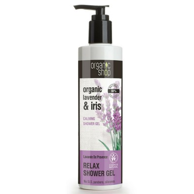 Organic Shop Organic Lavender & Iris Relax Shower Gel 250 ml