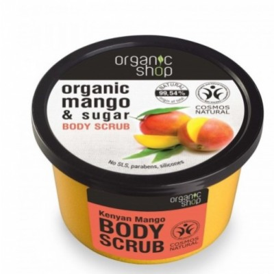 Organic Shop Organic Mango & Sugar Body Scrub 250 ml