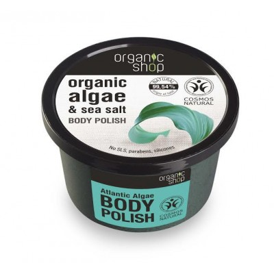Organic Shop Organic Atlantic Algae & Sea Salt Body Polish 250 ml