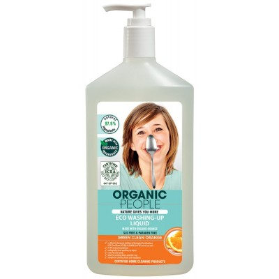 Organic People Liquid Dishwashing Soap Orange 500 ml