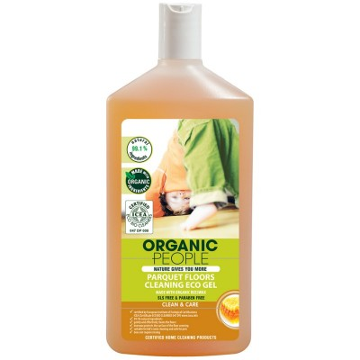 Organic People Parquet Floors Cleaning Gel Organic Beeswax 500 ml