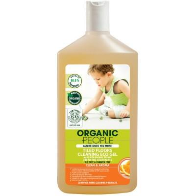 Organic People Tiled Floors Cleaning Gel Orange 500 ml