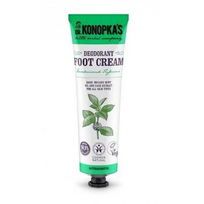 Dr. Konopka's Deodorant Bio Minze Fußcreme 75 ml