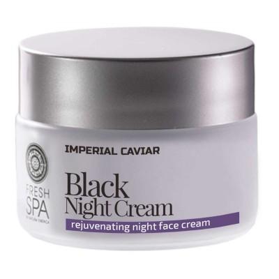 Natura Siberica Imperial Caviar Rejuvenating Black Night Cream 50 ml