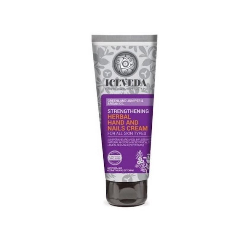 Iceveda Strengthening Herbal Hand & Nails Cream 75 Ml