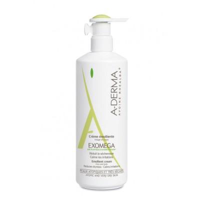 A-Derma Exomega Emollient Cream 400 ml