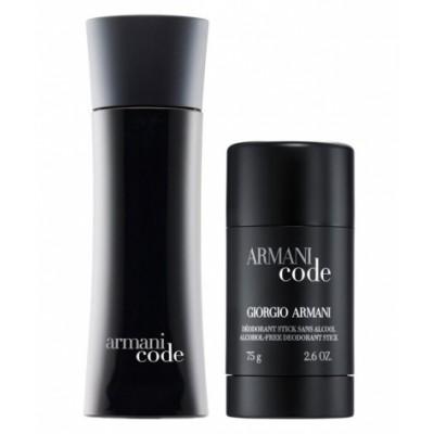 Giorgio Armani Code Homme EDT & Deostick 2 x 75 ml