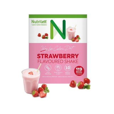 Nutrilett LCD Strawberry Shake 10 stk