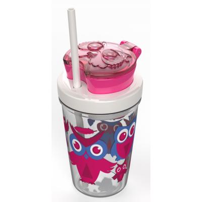Contigo Kids Snack Tumbler Owl Pink 350 ml