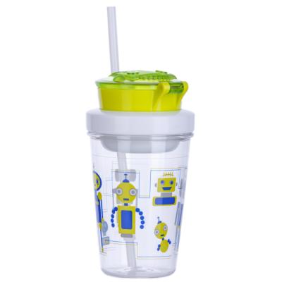 Contigo Kids Snack Tumbler Robot Green 350 ml