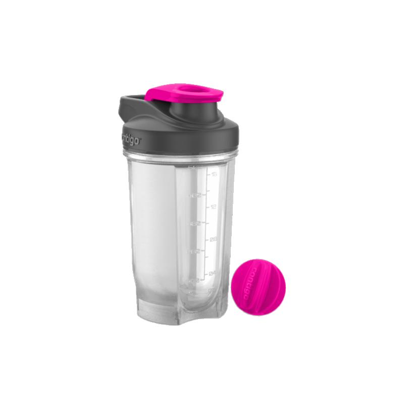 Contigo Shake & Go Fit Protein Shaker Neon Pink 590 ml - £6.95
