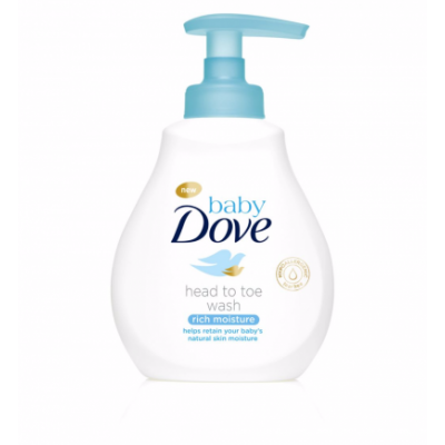 Dove Baby Head To Toe Wash Rich Moisture 200 ml
