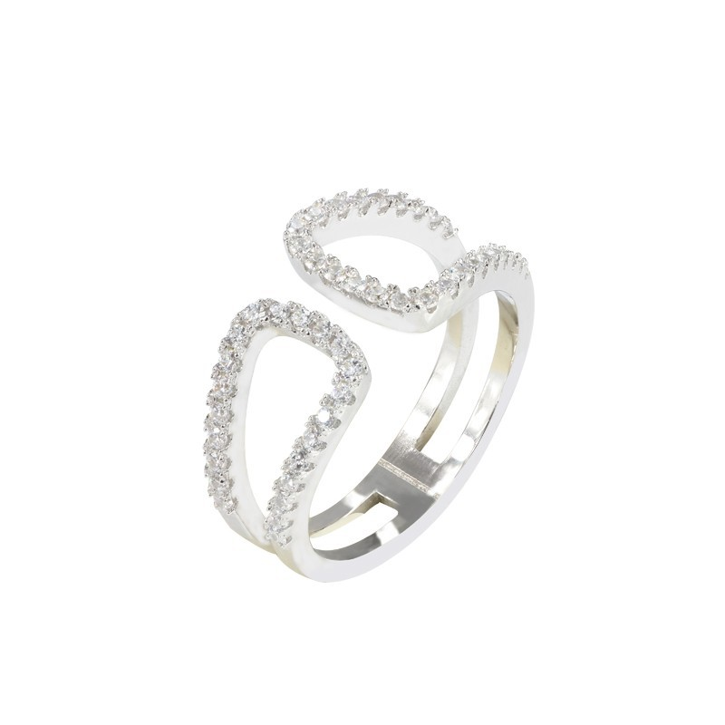 everneed filippa silver ring one size 163 6 25