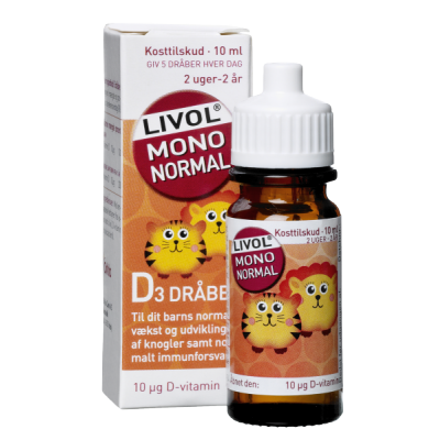Livol Mono Normal D-Vitamin Drops 10 ml