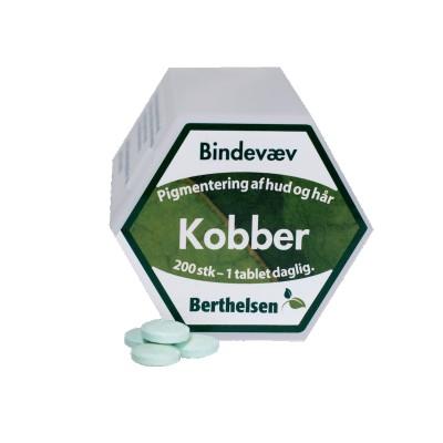 Berthelsen Kobber 2 mg 200 tabletter
