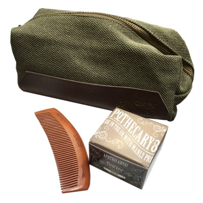 Apothecary87 Dopp Bag Hair Kit 100 ml + 2 kpl