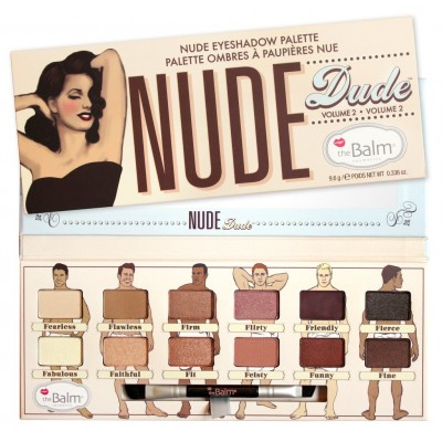 The Balm Nude Dude Eyeshadow Palette 1 kpl