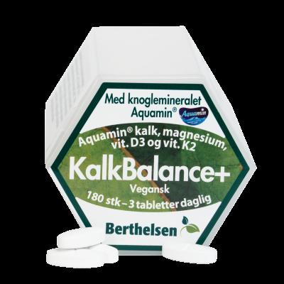 Berthelsen KalkBalanse - Vegetabilsk 180 tabletter