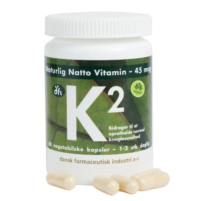 DFI Vitamin-K2 45 mcg Pflanzlich 60 stk