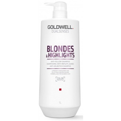Goldwell Dualsenses Blondes & Highlights Anti-Yellow Shampoo 1000 ml