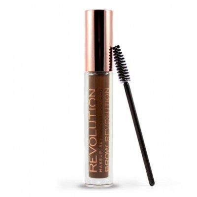 Revolution Makeup Brow Gel Revolution Dark Brunette 3,8 g