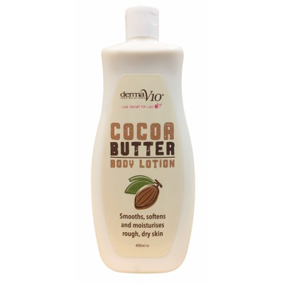DermaV10 Cocoa Body Lotion 400 ml