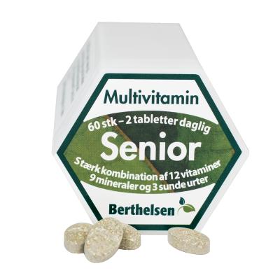 Berthelsen Tabletter till Senior 65+ 60 tabletter
