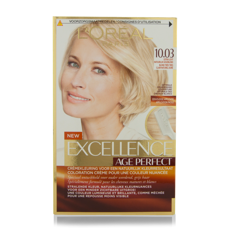 Loreal Excellence Coupons Printable Eating Out Deals In: L'Oreal Excellence Age Perfect Hair Color 10.03 1 Pcs