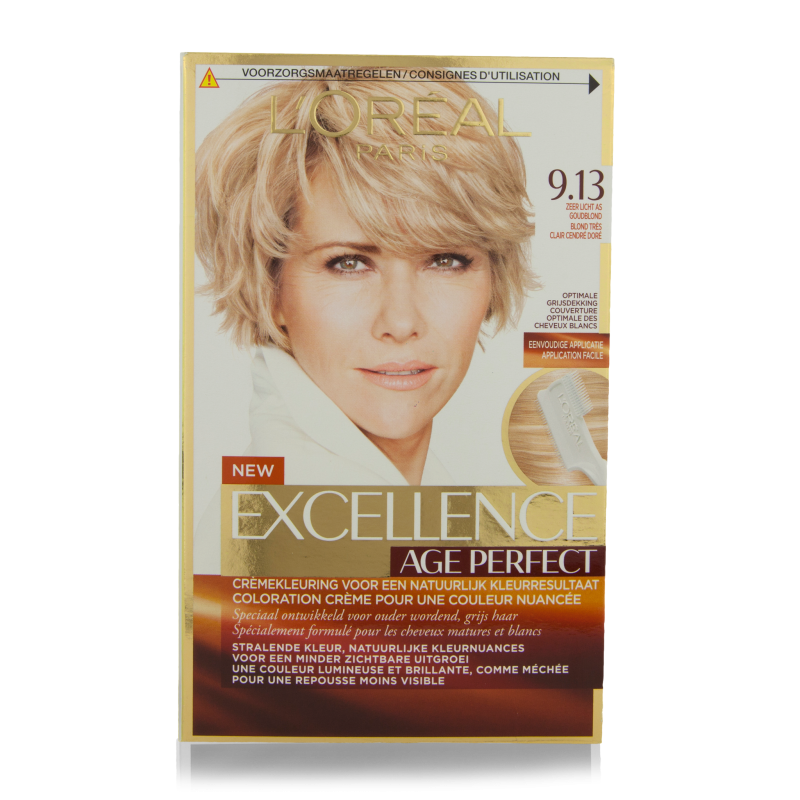 Loreal Excellence Coupons Printable Eating Out Deals In: L'Oreal Excellence Age Perfect Hair Color 9.13 1 Pcs