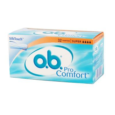 O.B. Pro Comfort Super 32 pcs