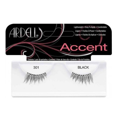 Ardell Accents False Lashes 301 Black 1 paar