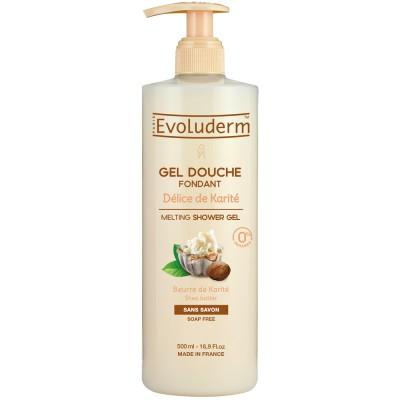 Evoluderm Shea Butter Shower Gel 500 ml