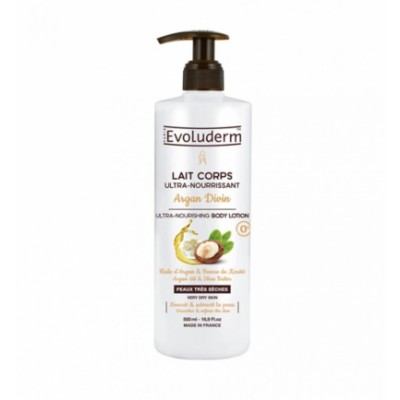 Evoluderm Argan Oil & Shea Butter Moisturizing Body Lotion 500 ml
