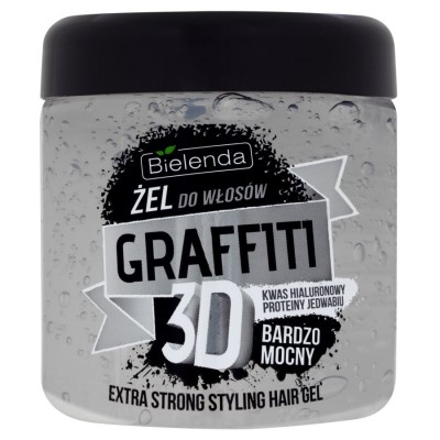 Bielenda Graffiti 3D Extra Strong Hair Gel 250 ml