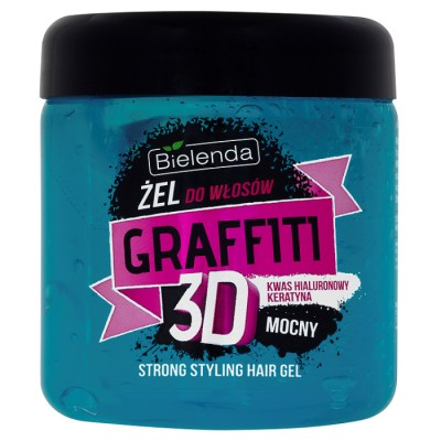 Bielenda Graffiti 3D Strong Hair Gel 250 ml