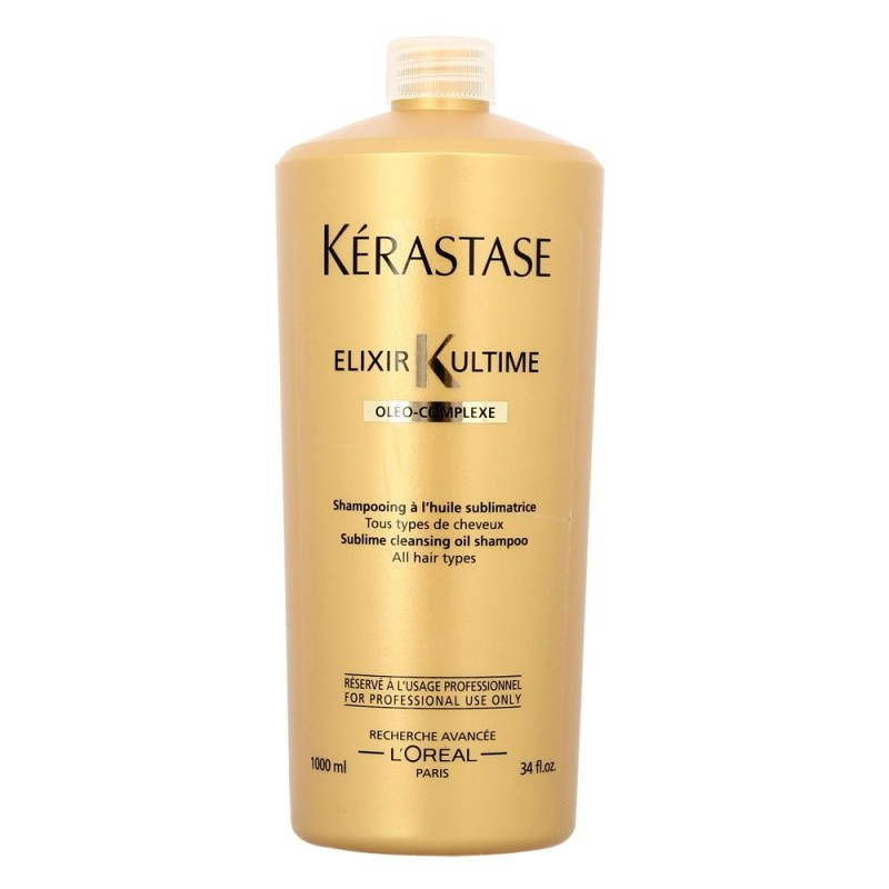 kerastase elixir ultime bain cleansing oil shampoo 1000 ml. Black Bedroom Furniture Sets. Home Design Ideas