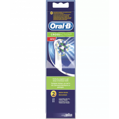 Oral-B Crossaction 2 pcs