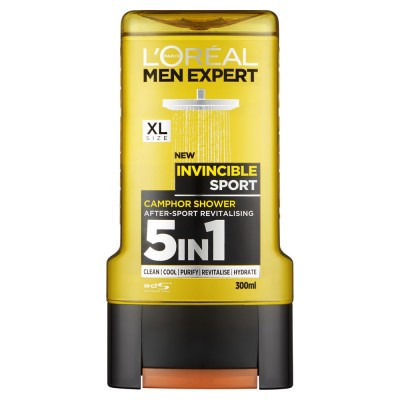 L'Oreal Men Expert 5in1 Shower Gel Invincible Sport 300 ml