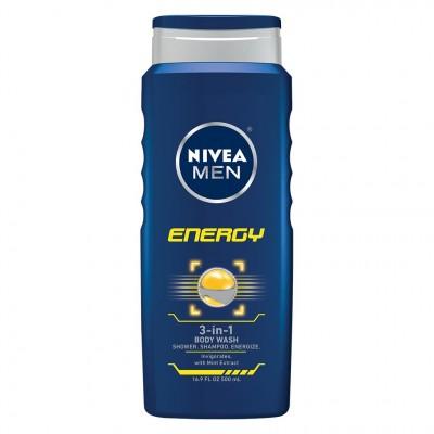 Nivea Men Energy Shower Gel 500 ml
